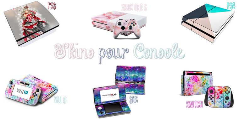 Stickers pour Consoles