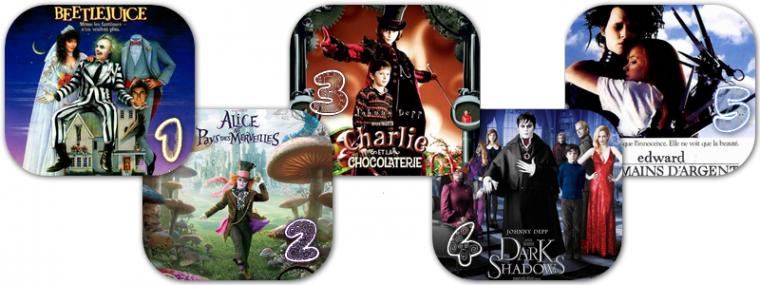 Films : Top 5 des films de Tim Burton