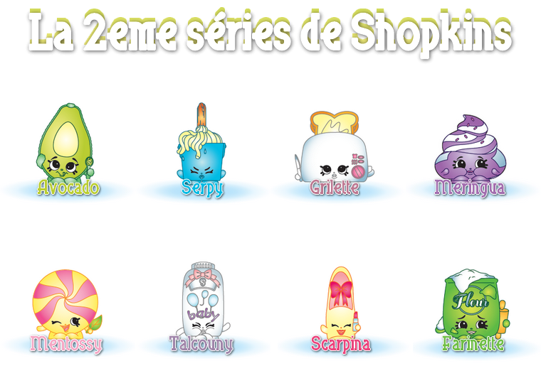 Collection : Figurines Shopkins