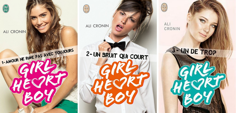 Livres : Girl Heart Boy