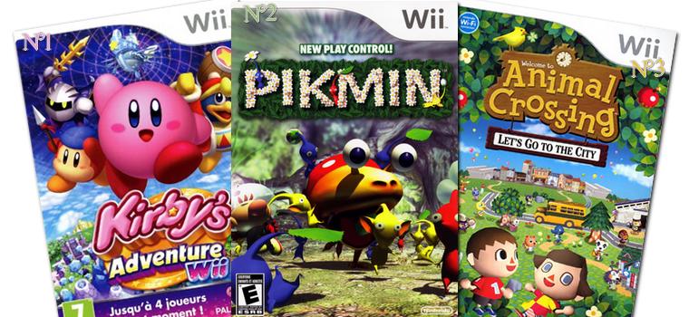 Jeux : Mon Top 3 Jeux Wii