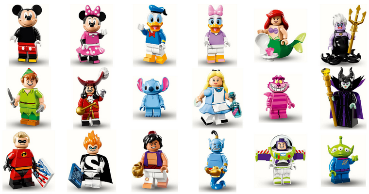 Collection : Figurine Lego Disney