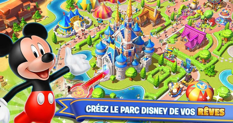 Jeux : Disney Magic Kingdoms