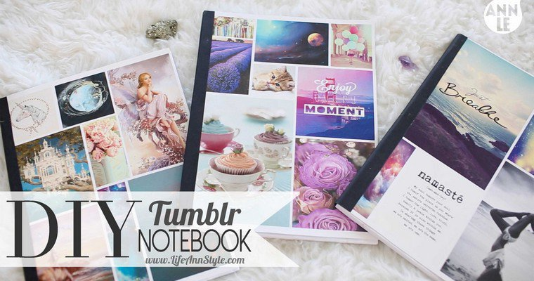 DIY : Notebook Inspiration Tumblr