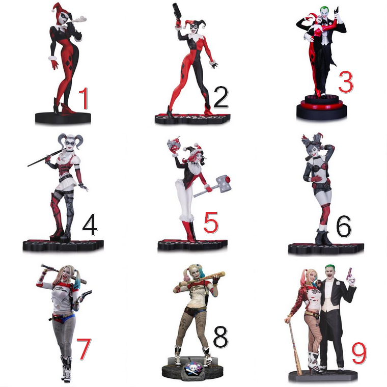 Collection : Figurines Harley Quinn