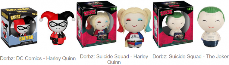 Collection : Figurines Funko Dorbz