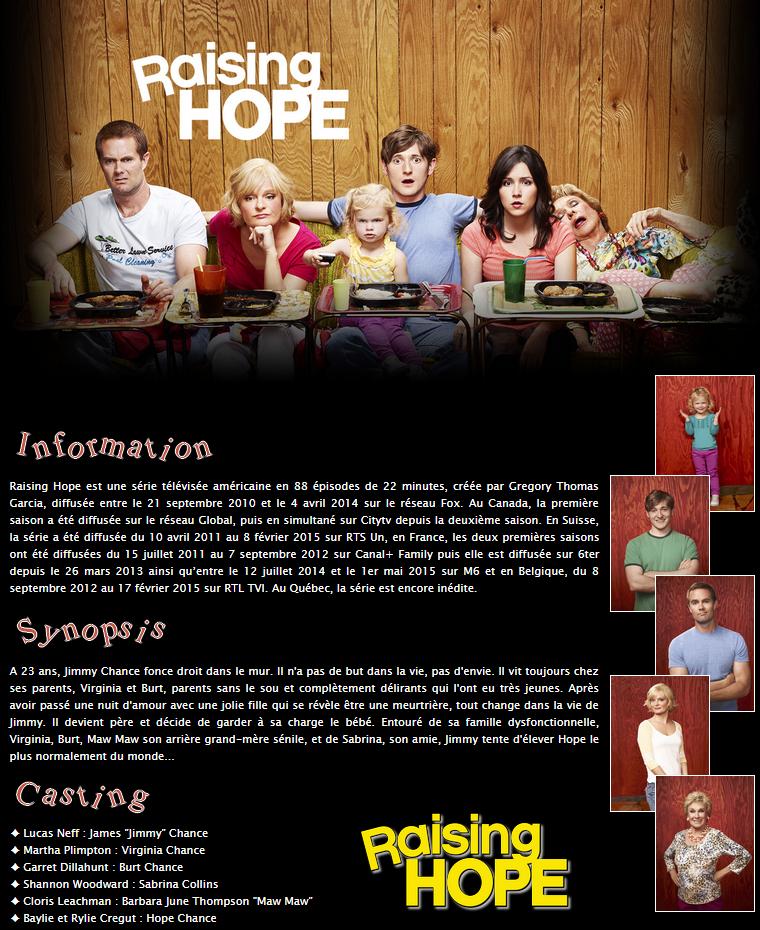 Série : Raising Hope