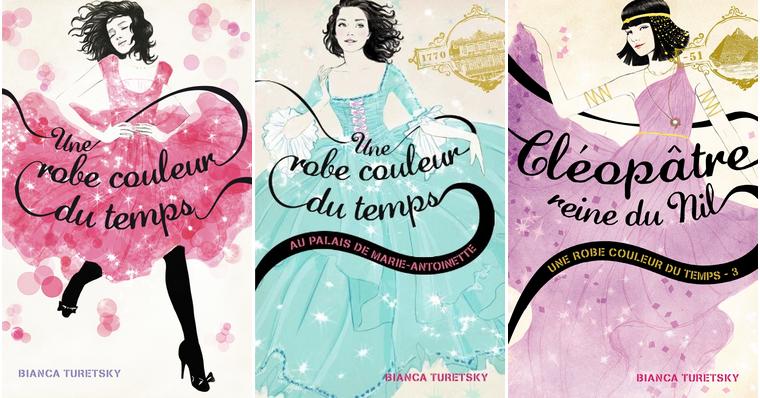 Livres : Une robe couleur du temps