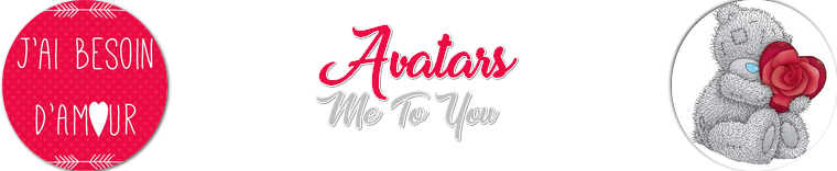 Ressources : Avatars Me To You (St Valentin)