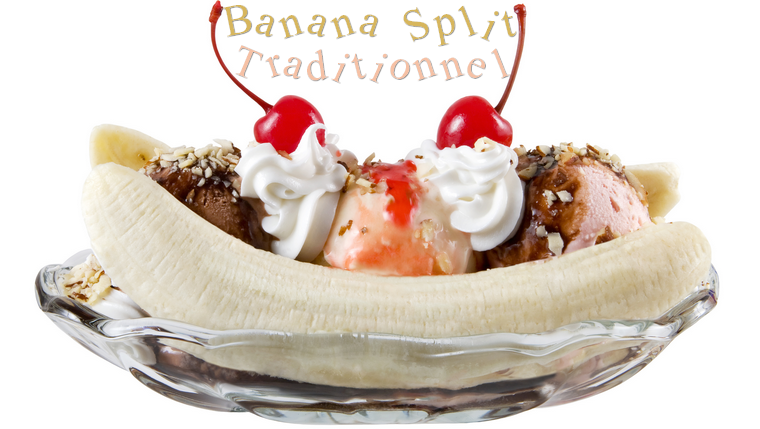 Le Banana Split Traditionnel