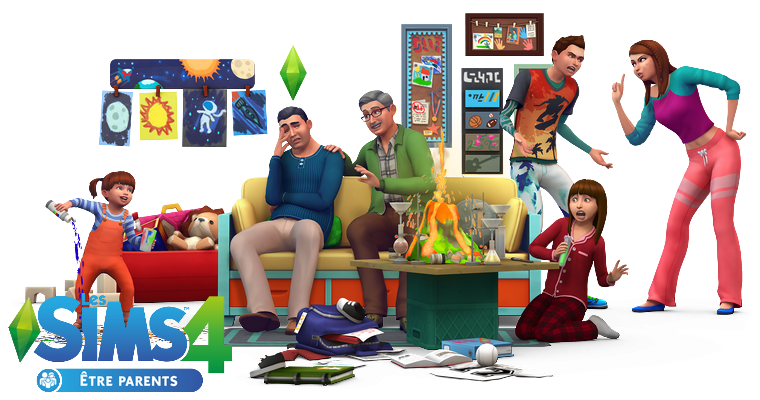 Sims 4 : Etre Parents