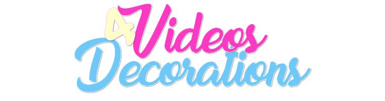 DIY : 4 Vidéos Décorations