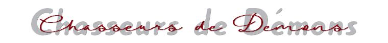 Livres : Série - Chasseurs de Démons