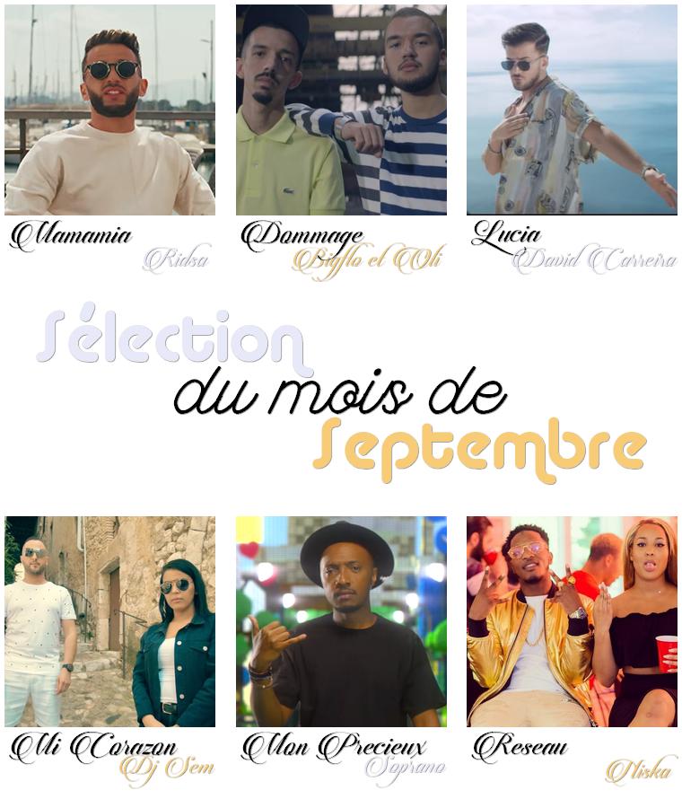 Musique : Sélection de Septembre 2017