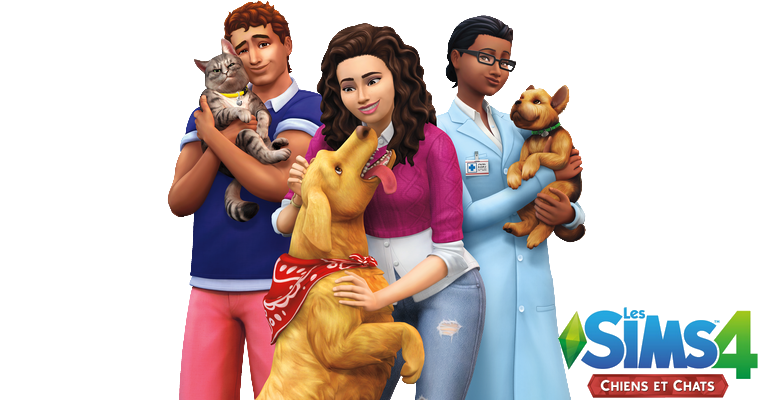 Sims 4 : Pack d'extension Chiens et Chats