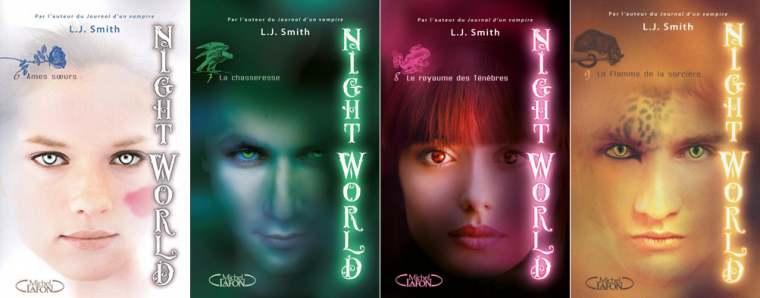 Livres : Série - Night World