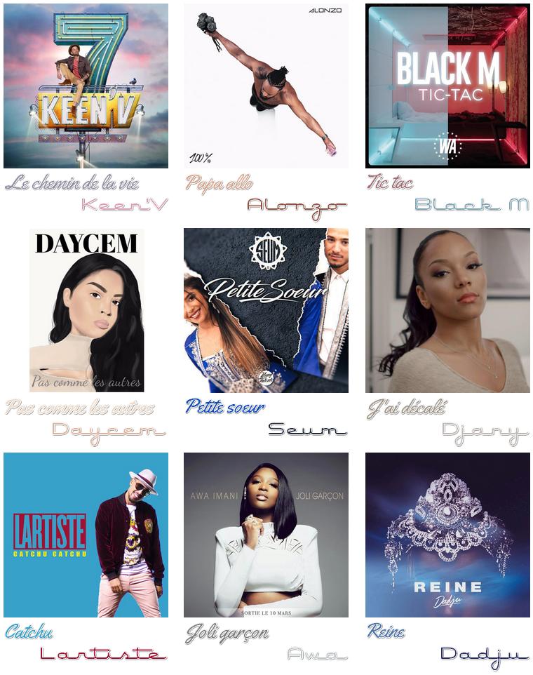 Musique : Sélection de Décembre 2017