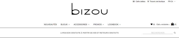 Site et Blog : Bizou.com