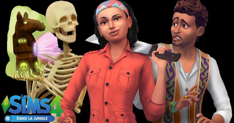 Sims 4 : Pack de Jeu - Dans la Jungle