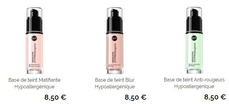 Beauté : Maquillages Hypoallergénique