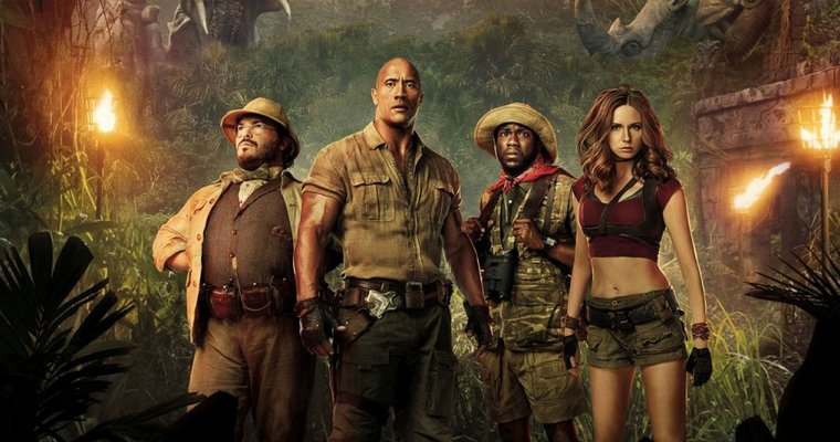 Films : Jumanji: Bienvenue dans la Jungle