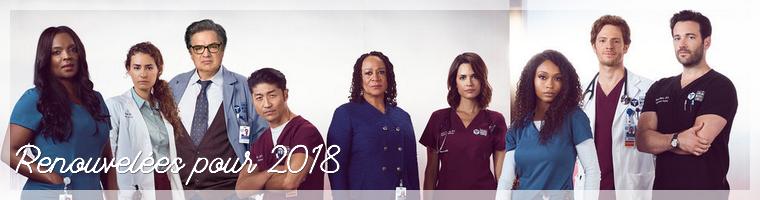 Série : Renouvellements et Annulations des séries 2018/2019