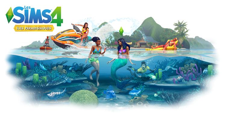 Sims 4 : Pack d'extension - Iles Paradisiaques