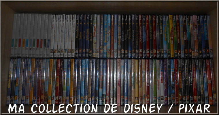 Collection : Ma collection dvd disney