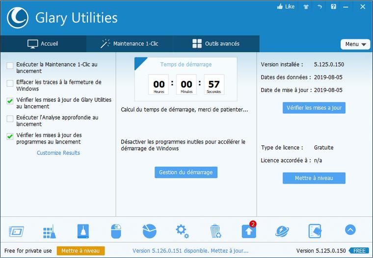 Ccleaner & Glary Utilities
