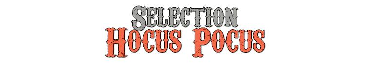 Sélection Vêtement Hocus Pocus
