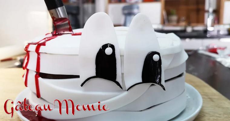 Gâteau Momie Halloween 2020