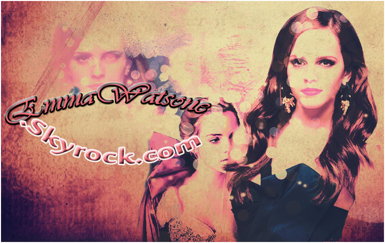 ♥Welcome sur le blog de la belle et charmante Emma Watson  ♥  Ce blog vous fera découvrir son actu, ou alors son quotidien, en passant par les photo-shoots, les candids et les événements
