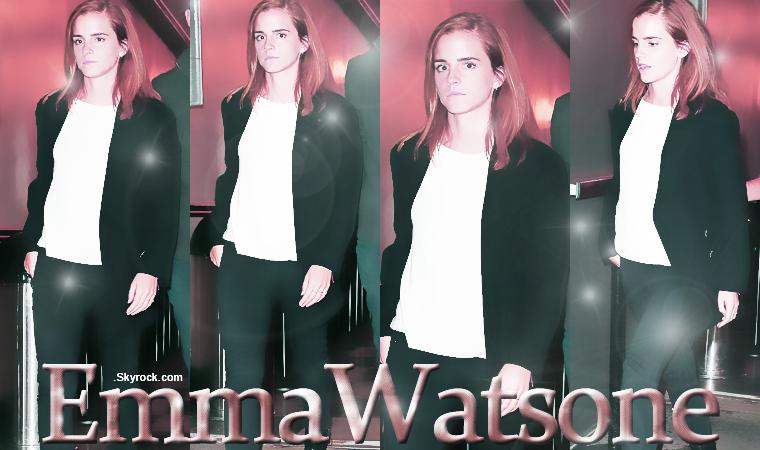 En ce début de moi de novembre, on a déjà deux sortie de la belle Emma, toujours aussi simple mais assez jolie