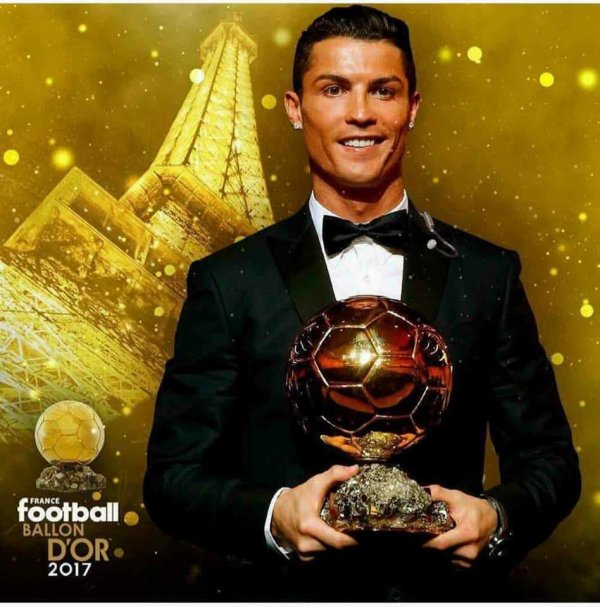;) Cristiano Ronaldo  ;) Ballon d'Or 2017 :D The Best ;)