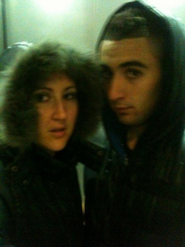 moi e mon homme de ma vie