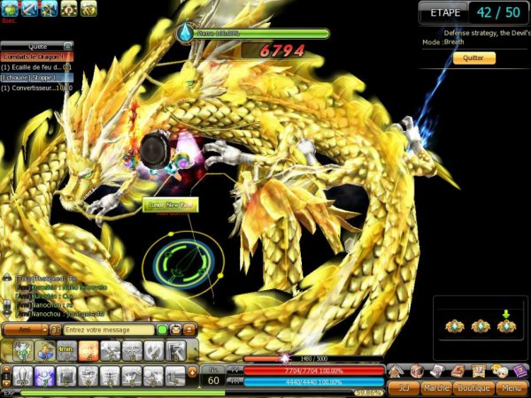 Dance du dragon!!!