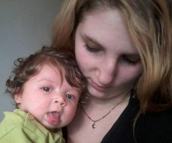 moi et ma fille <3 je t'aime ma princesse