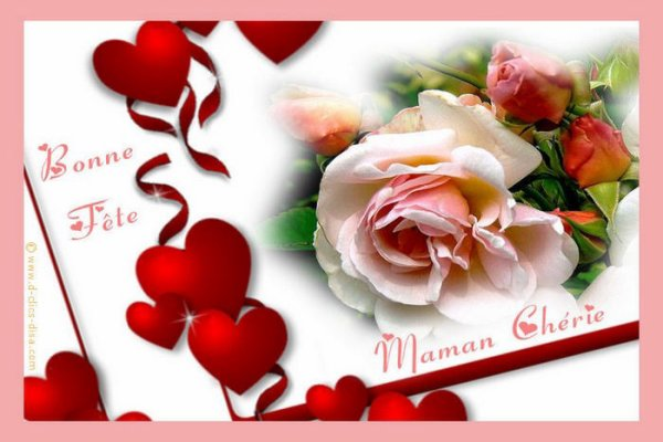 ❤ Heureuse fête des mères / Happy Mother's Day ❤