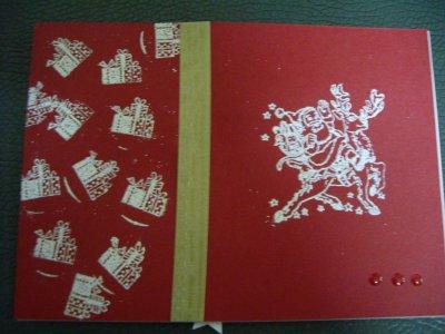 2 cartes que j'ai reçues :)