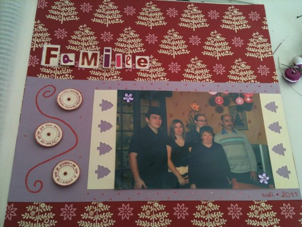page famille