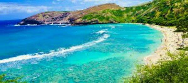 Un de  mes rêve aller à Hawaii pour vour ces paysages