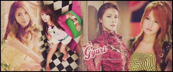 "~ Gyuri ~ → Anciennement ""KARA"""