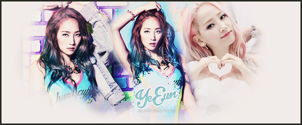 """~ YeEun ~ → Anciennement """"Wonder Girl's"""""""