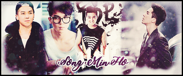 "~ Song MinHo ~ → ""WINNER"""