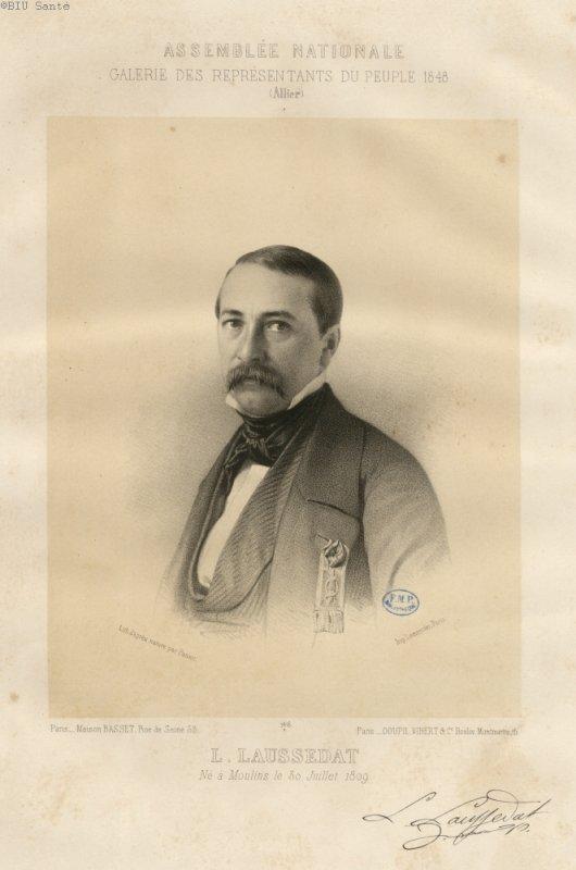 LOUIS LAUSSEDAT
