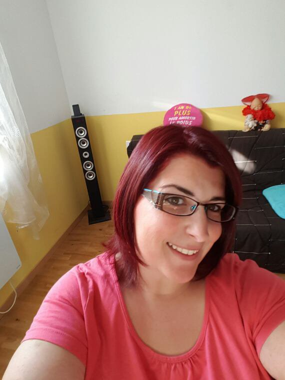Retour du rouge dans mes cheveux!!