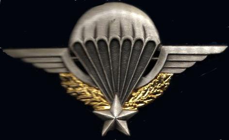 Entiérement sur l'armée parachutiste