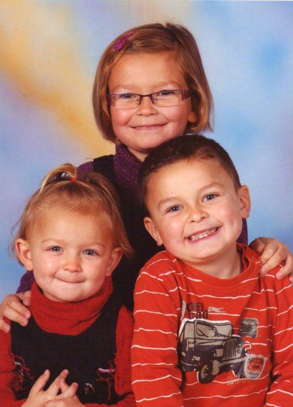mes neveux et niece de coeur  orlane romann  et éloane