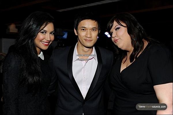 *05/08/2011 - N. était à la soirée « Fox All Star Party » organisée par la chaine FOX avec Ashley F. et Harry Shum Jr . *