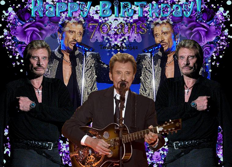 L Une Star Un Mythe Johnny Hallyday Joyeux Anniversaire L